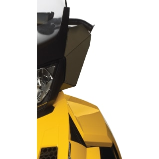 Windshield Side Deflector Kit - (REV-XR, XU Fits extra high and ultra high windshields)