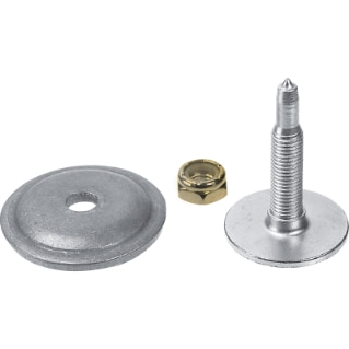 "286 Phantom Series Studs & Support Plates by Woody's - (5/16 - 1.325"" (120"" track))"