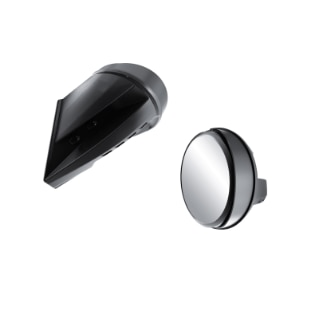 Windshield-Mount Mirrors - (REV-XU, XR (with extra high one-piece windshield))