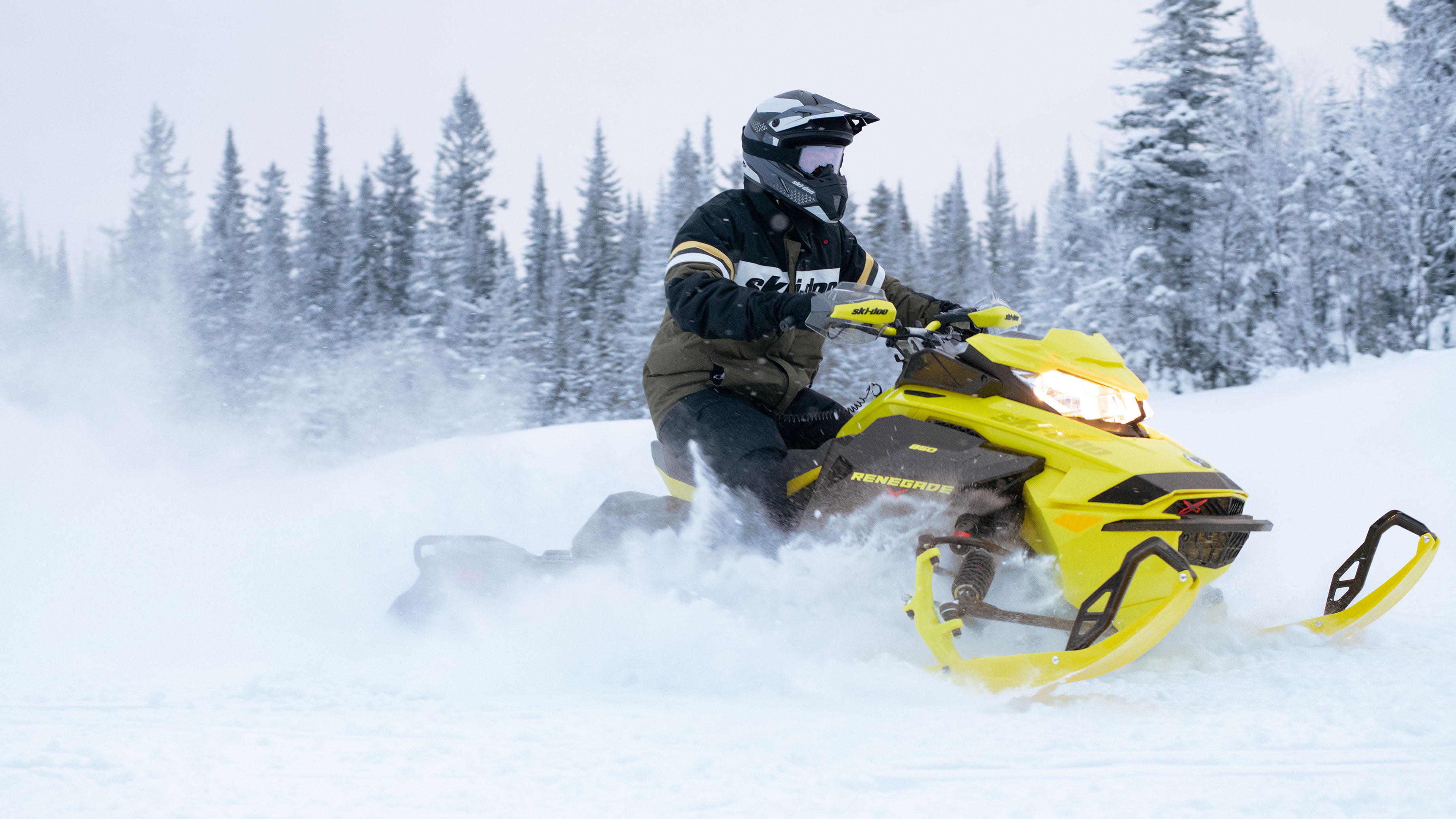 The new 2022 Ski-Doo Renegade