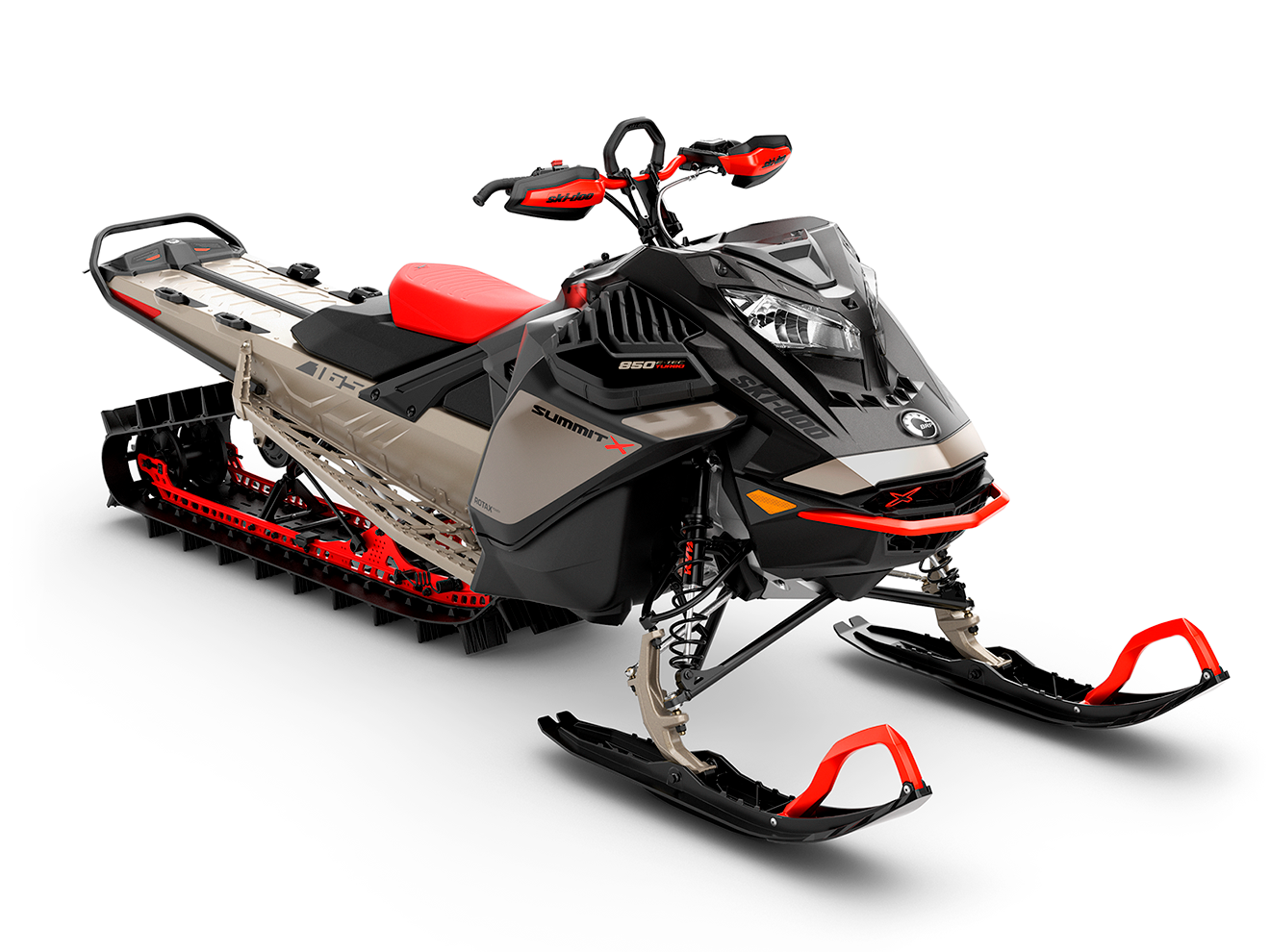 2022 Ski-Doo Summit: Lightweight Features