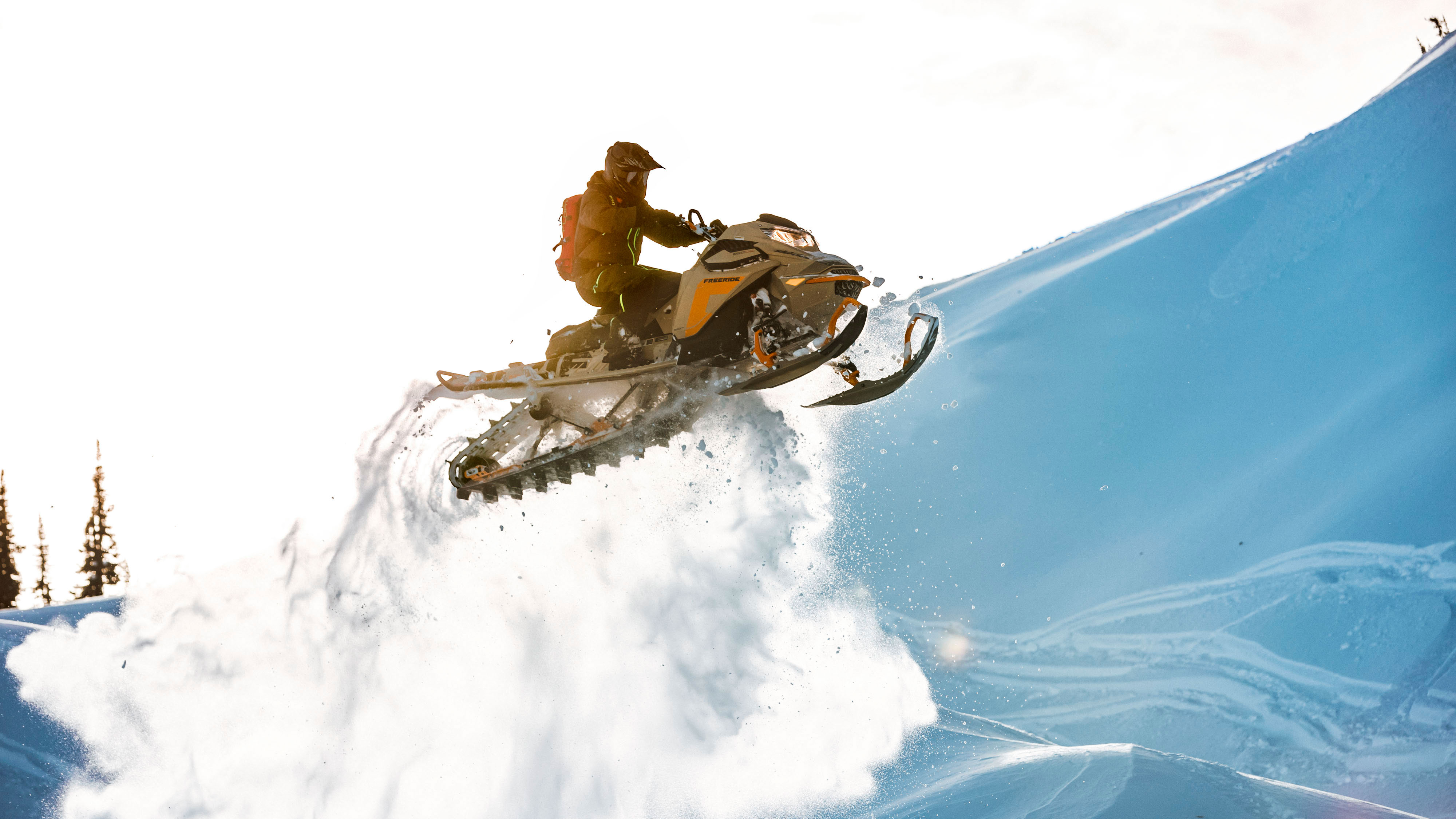 Backcountry riding with 2022 Ski-Doo Freeride