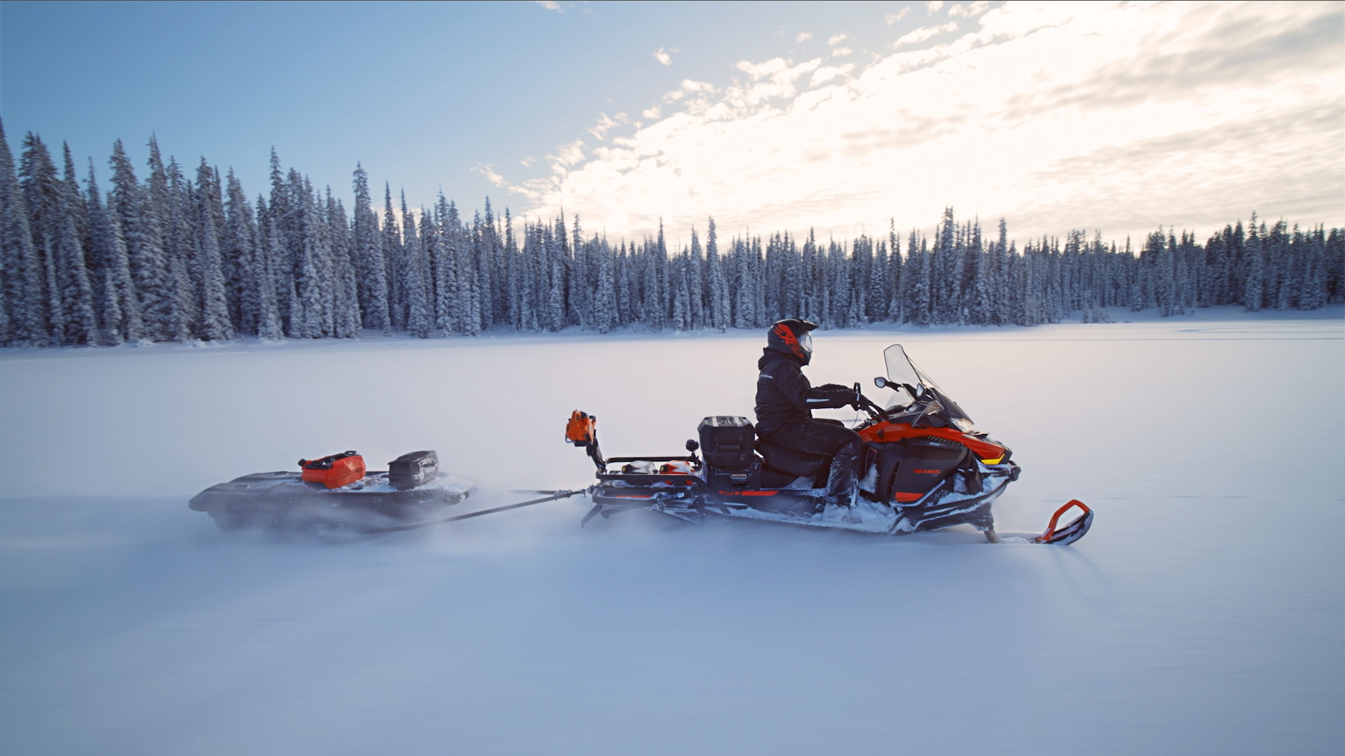 When do snowmobile trails open?