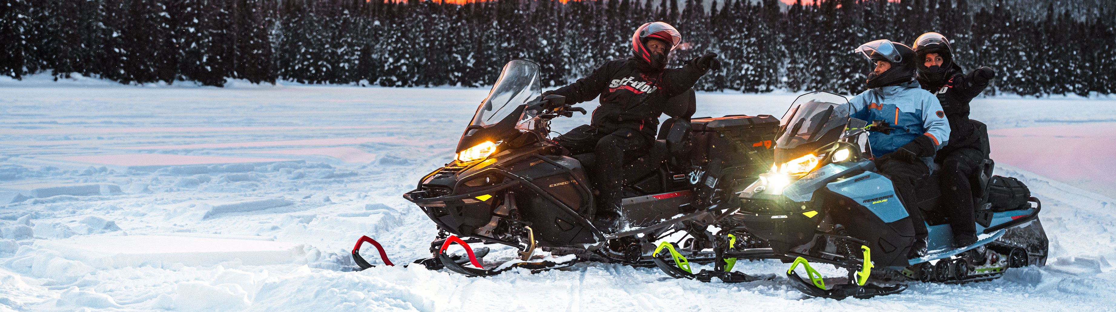 How can I find people to snowmobile with?