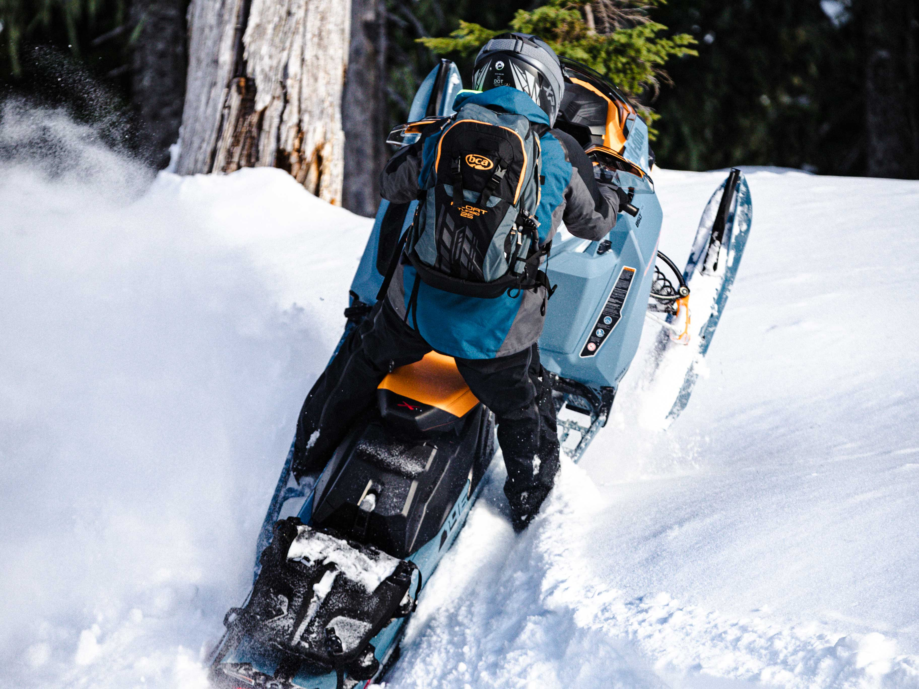2022 Ski-Doo Backcountry and the REV Gen4 Platform