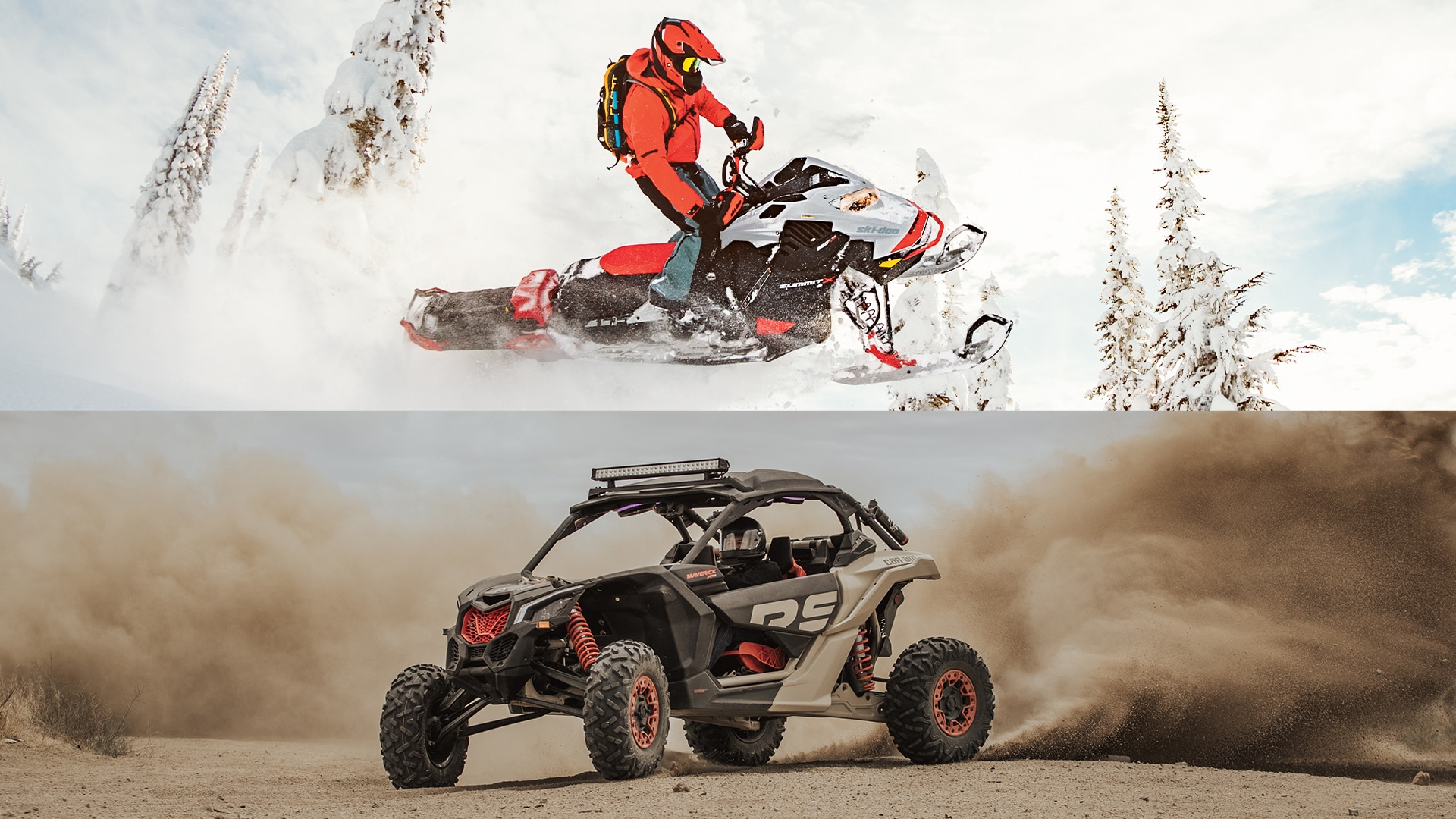 Snowmobile or Off-Road, find your freedom in every season