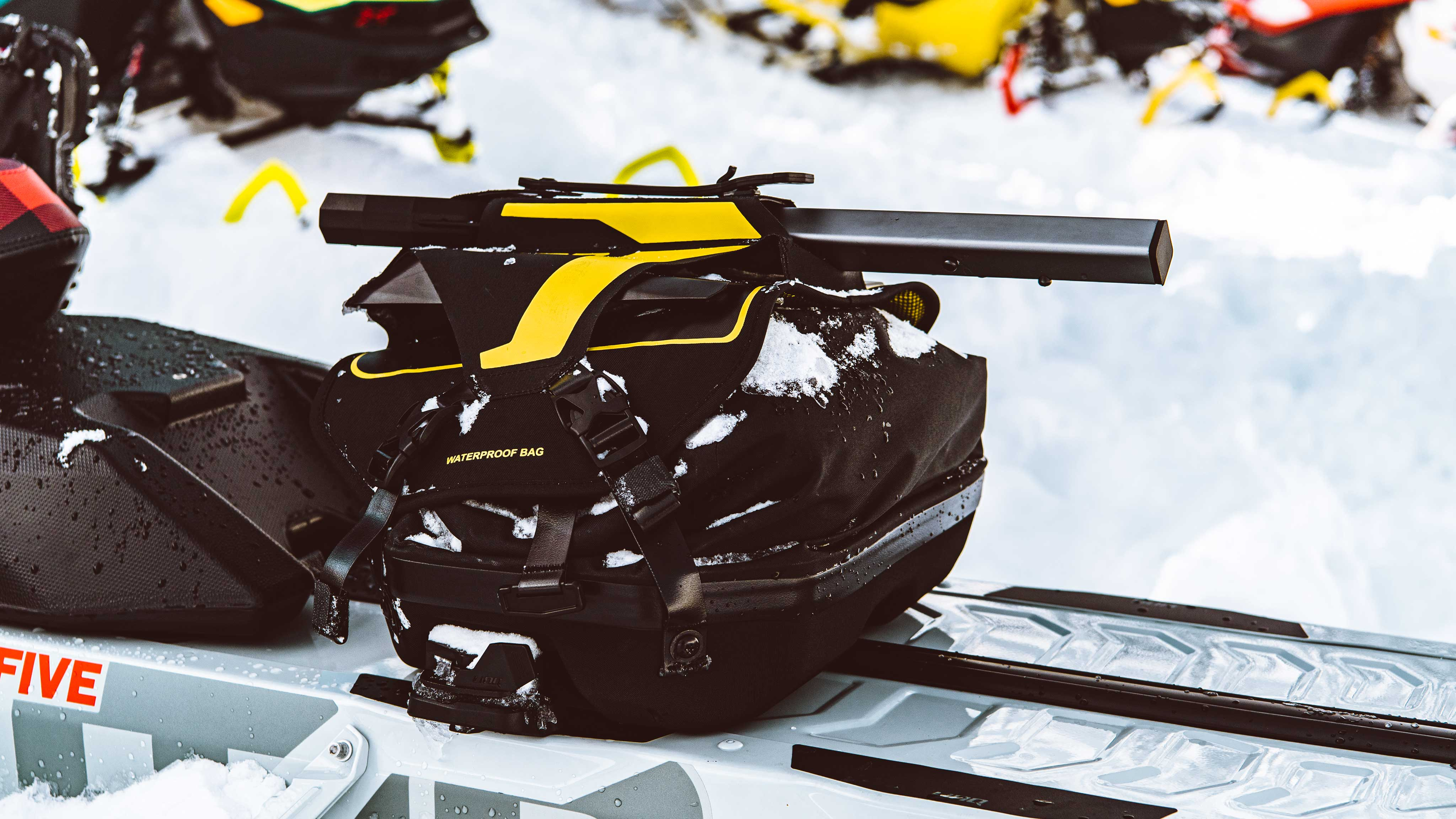 Ski-Doo with essential accessories