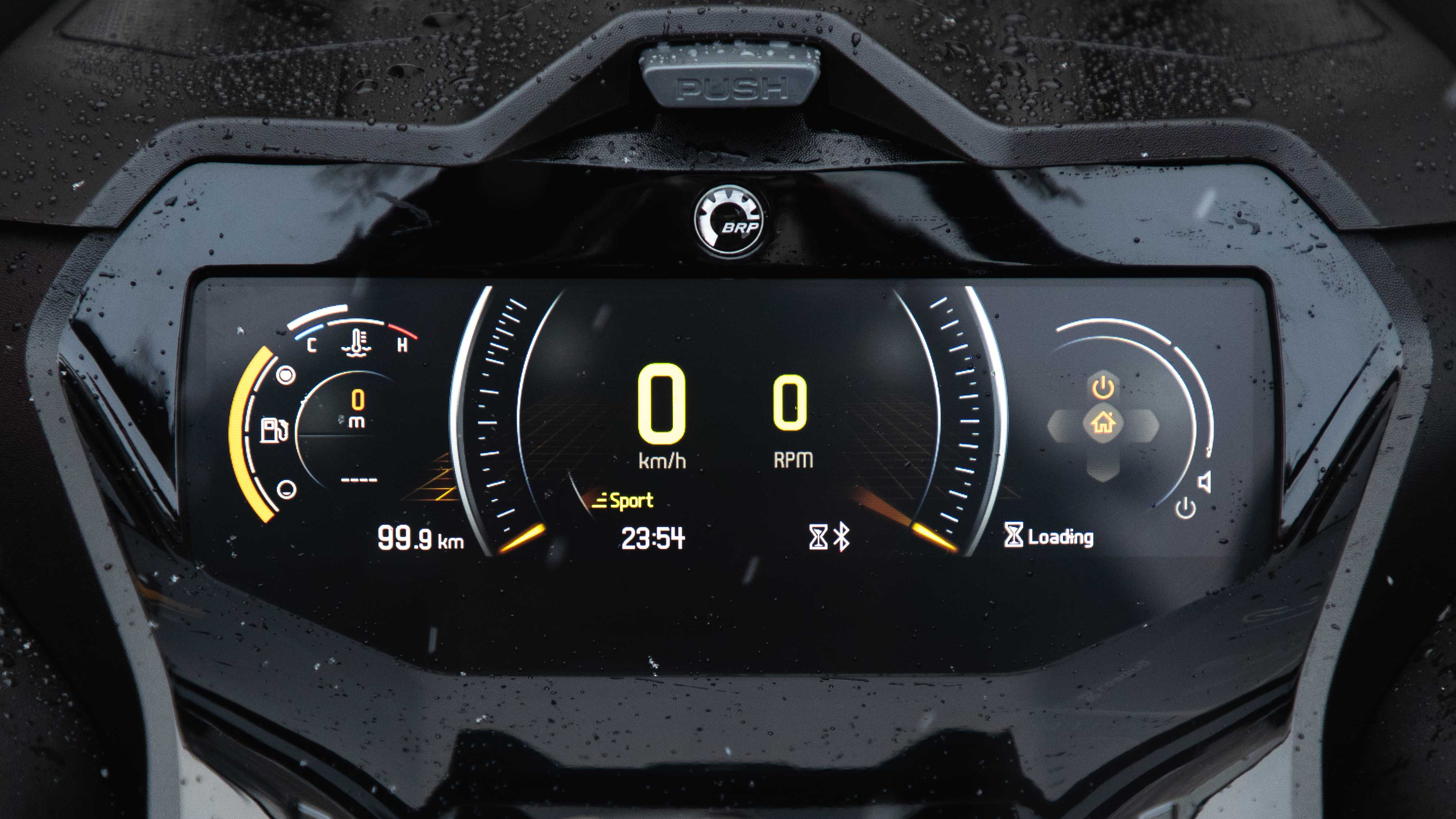 Ski-Doo full color gauge with GPS