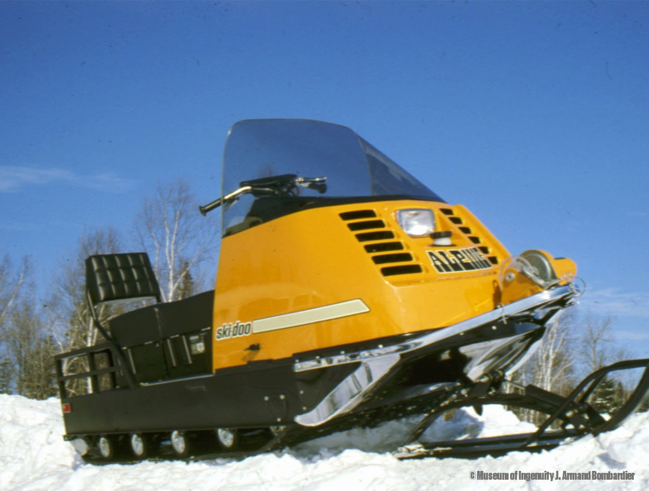 Ask anyone and they'll probably tell you a snowmobile consists of a track  and two skis. It hasn't always been that way. Twin track snowmobiles were a  ...