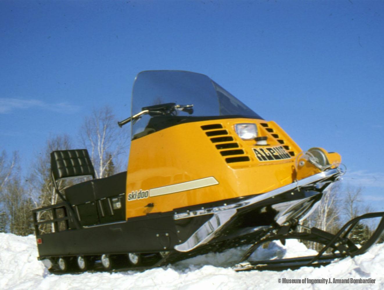 histoire ski