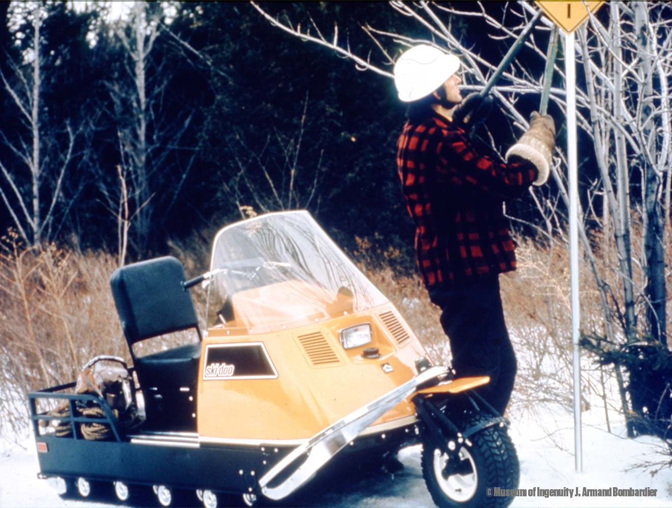 Perhaps what made the Alpine the ultimate utility sled of its day was its  versatility. With an optional wheel kit to replace the ski, you could turn  your ...