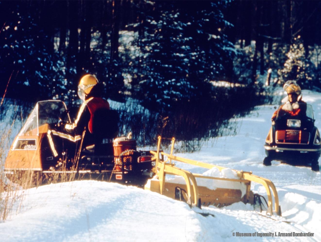 Ski-Doo Snowmobile History: Alpine Utility Sleds | Ski-Doo