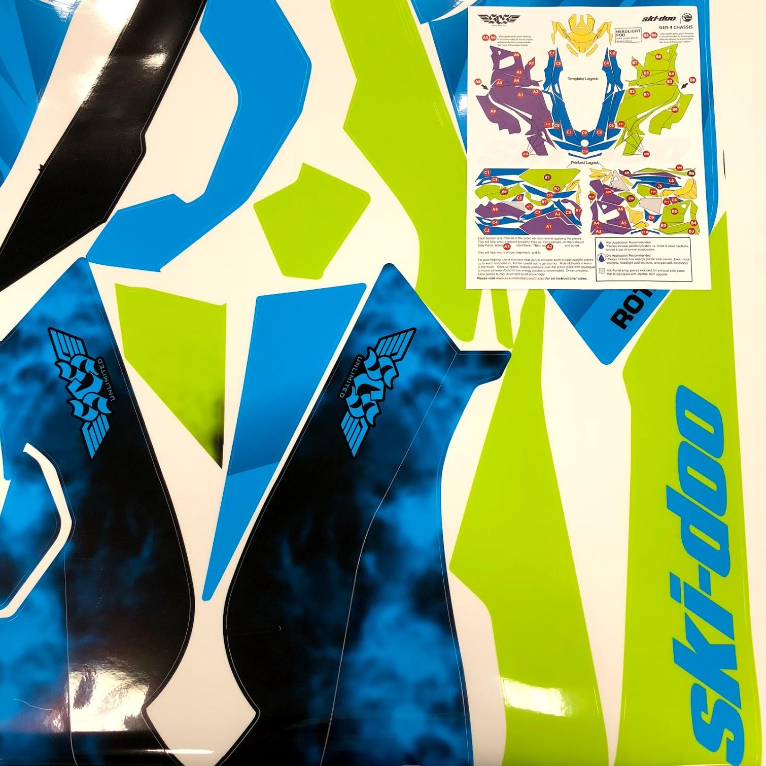 Snowmobile Wrap Install Tips from SCS Wraps | Ski-Doo Canada | Ski