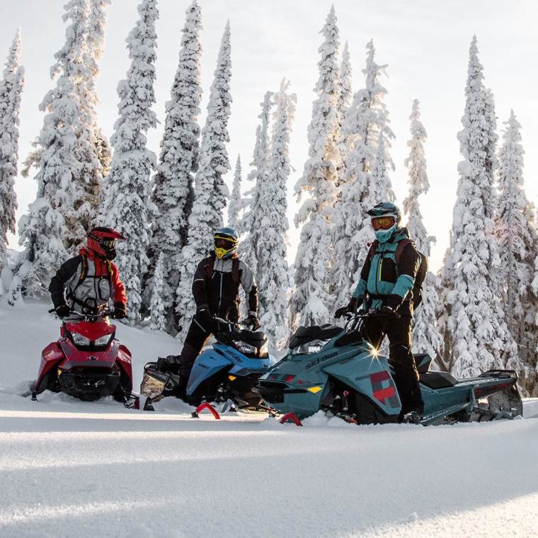 Pictures of ski doo snowmobiles
