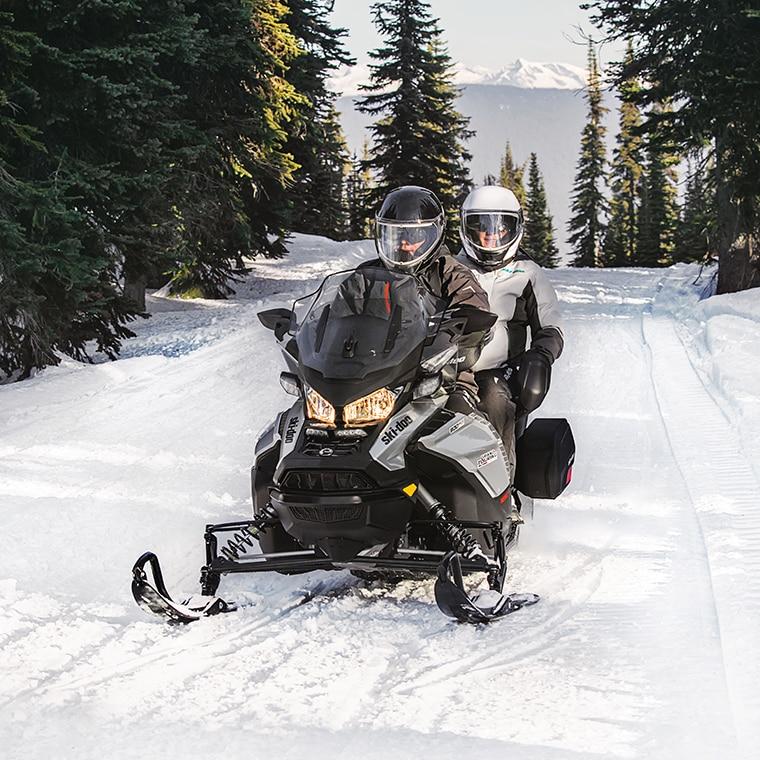 ski-doo grand touring 2 up snowmobile