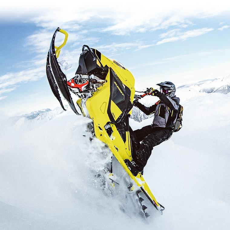 New 2020 Ski Doo Summit 850 E TEC Turbo Snowmobile | Ski Doo USA