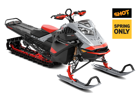 Ski-Doo Snowmobile Summit X with Expert package